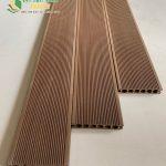 Sàn nhựa ngoài trời, sàn nhựa giả gỗ giá rẻ độ bền cao