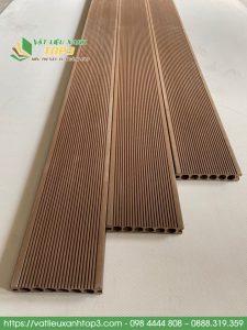 Sàn gỗ nhựa ngoài trời lỗ tròn