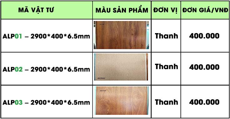 Giá tấm nhựa pvc nano