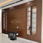 Mẫu lam gỗ nhựa ốp tường vách ngăn trần nhà đẹp giá rẻ