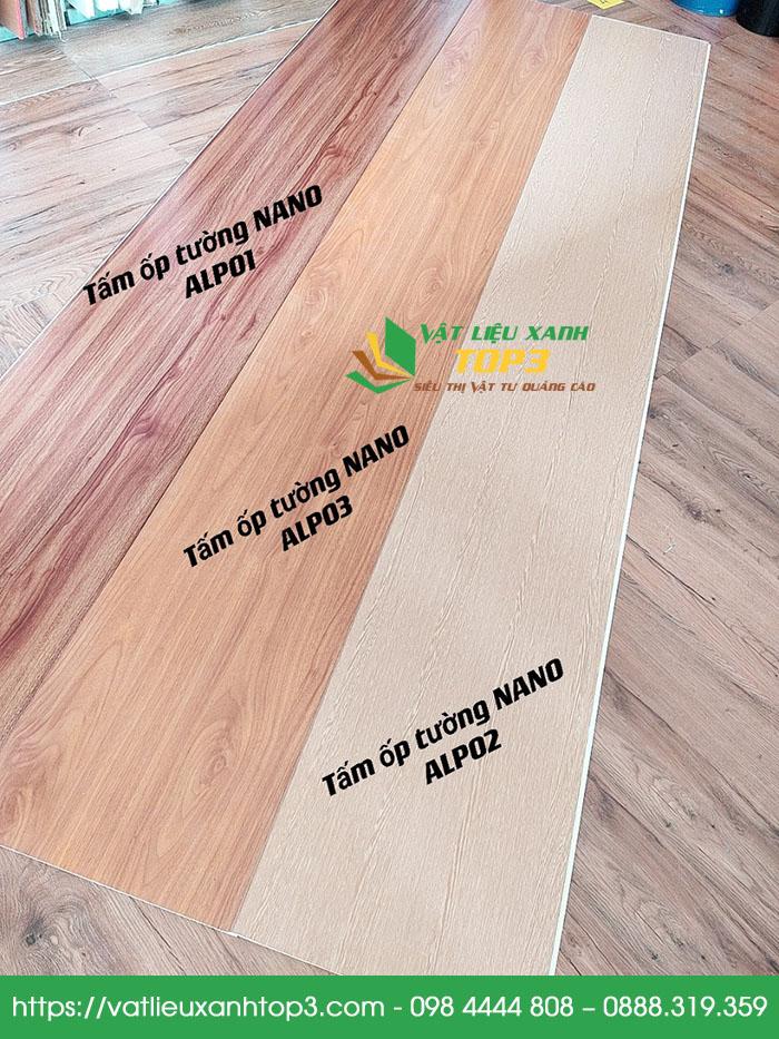 tấm nhựa PVC giả gỗ giá rẻ